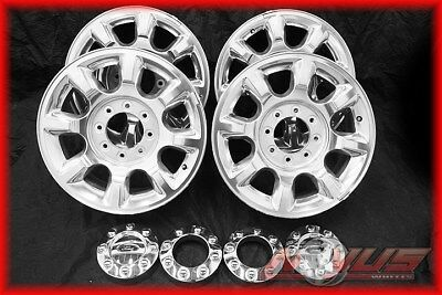 $1100 • Buy Oem 20  Ford F250 F350 Suderduty King Ranch Fx4 Polished Factory Wheels 18 17 22