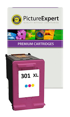 £10.90 • Buy Text Quality 301XL Colour Ink Cartridge For HP Envy 5530 5532 4501 E-All-in-One