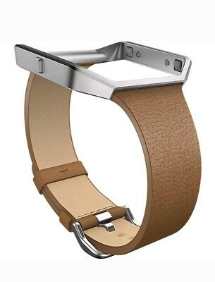 $ CDN28.34 • Buy Fitbit Blaze Leather  Accessory Band Camel Size Small Genuine  New In Box