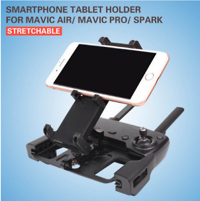 AU22.33 • Buy DJI MAVIC AIR MAVIC PRO SPARK Remote Controller PHONE Tablet Holder Bracket