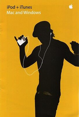 AU22.13 • Buy  Vintage Apple •brochure• IPod + ITunes Yellow Circa 2004 Collectible *AU* RARE