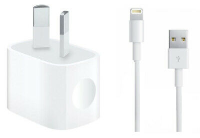 AU14.99 • Buy IPhone 5 6 7 8 S Plus X XR XS 11 Pro Max IPod/iPad Mini Wall Charger Data Cable