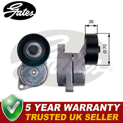 £34.24 • Buy Gates Drive Belt Tensioner Pulley Fits BMW 3 Series 5 Series Z4 Z3 - T38201