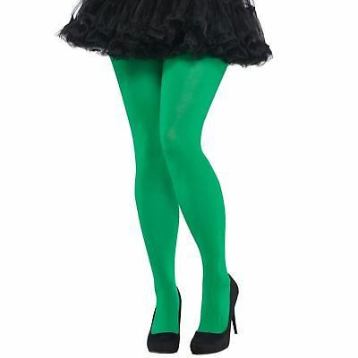 Adult Ladies Green Tights Christmas Xmas Elf Fairy Panto Tink Costume Accessory • 6.57£