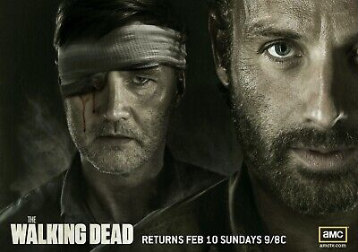 ZZ055 MOVIE POSTER Photo Poster Print Art THE WALKING DEAD RICK All Sizes