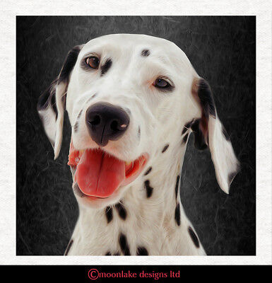 £2.45 • Buy Dog - Dalmatian - Fabric Craft Panels In 100% Cotton Or Polyester