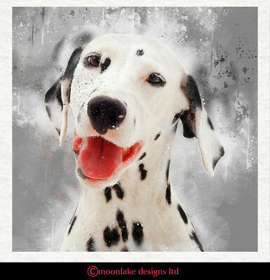 £2.45 • Buy Dog - Dalmatian2 - Fabric Craft Panels In 100% Cotton Or Polyester
