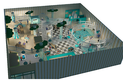£83994.64 • Buy 3,000 Sqft Commercial Indoor Playground Turnkey Interactive Soft Play We Finance