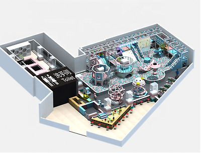 £145595.54 • Buy 4,000 Sqft Commercial Indoor Playground Themed Interactive Soft Play We Finance
