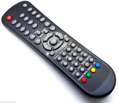 NEW Replacement TV Remote Control For GOODMANS GVLCDHD32 GVLCDHD32DVD • 8.75£