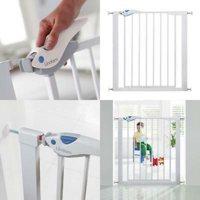 £42.54 • Buy Easy Fit Plus Deluxe Pressure Fit Baby Safety Stair Gate Lindam 76-82 Cm White