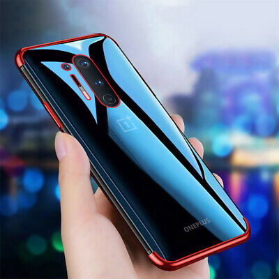 AU5.15 • Buy For Oneplus Nord 8 Pro 7T Pro 7 6T 6 5T Ultra Thin Plating Soft Clear Case Cover