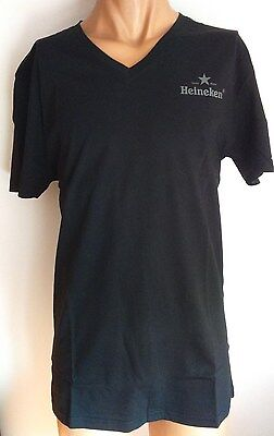 HEINEKEN T-Shirt Star BLACK - New - XL • 6.96£