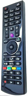 Remote Control For Logik L24HEDW15 24  LED TV Built-in DVD Player - White • 5.94£