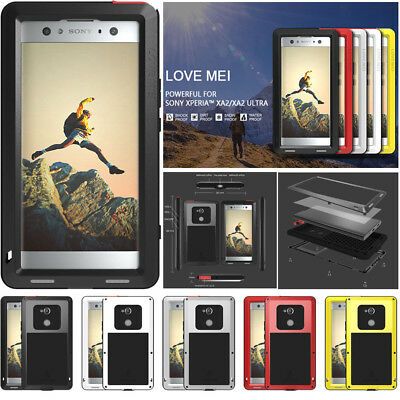 $ CDN48.33 • Buy LOVE MEI Metal Shockproof Waterproof Case Cover For SONY Xperia XA2 / XA2 Ultra