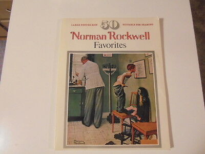 $ CDN7.79 • Buy 50 Norman Rockwell Favorites 1977 Book Large Poster Size Prints Framing Suitable