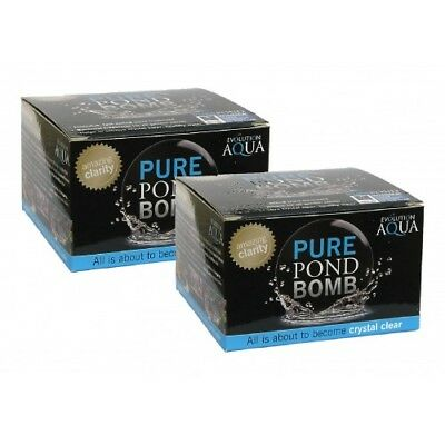 £21.99 • Buy Evolution Aqua Pure Pond Bomb X2 - Perfect Treatment For Clear & Healthy Ponds!