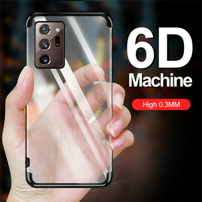 $ CDN3.05 • Buy For Samsung Galaxy Note 9 S10E S9 S8 Plus Plating Soft Silicone Clear Case Cover