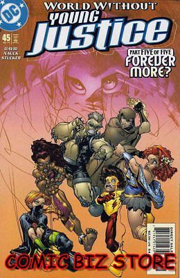 Young Justice #45 (2002) 1st Printing Bagged & Boarded Dc Comics • 2.50£