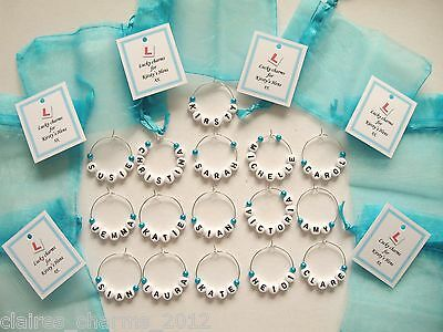Personalised Wedding Favour / Hen Party Favour / Name Charm • 0.99£