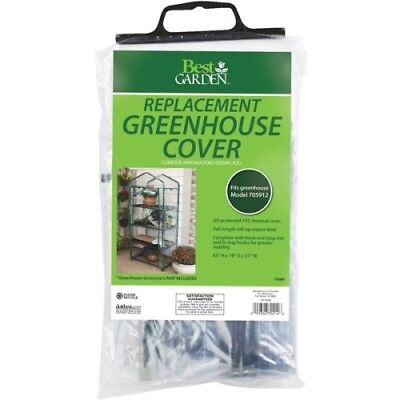 Best Garden 27 In.W X 63 In.H X 19 In.D Replacement Cover For 4-Shelf Greenhouse • 18.64£