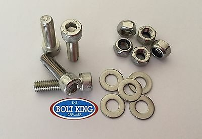 AU18.70 • Buy M8 X 25mm Socket Head Cap Screw 304 Stainless Steel Kit QTY 10 Bolt/nut/washer