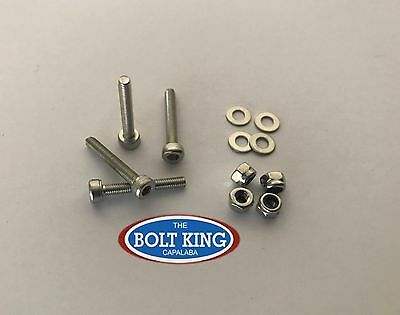 AU11 • Buy M3 Socket Head Cap Screw Kit 304 Stainless Steel Bolts/washers/nylocs