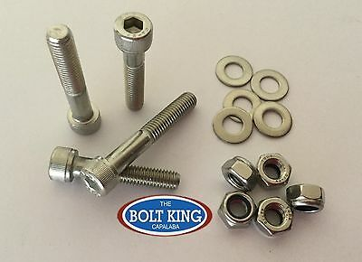 AU14.30 • Buy M8 X 50mm Socket Head Cap Screw 304 Stainless Steel Kit QTY 10 Bolt/nut/washer