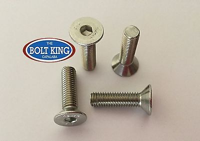AU11 • Buy M6 Countersunk Flat Head Socket Screw 304 Stainless Steel CSK