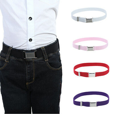 $3.29 • Buy Toddler Boy Kids Buckle Belt  Adjustable Elastic Children Buckle Belts Waistband