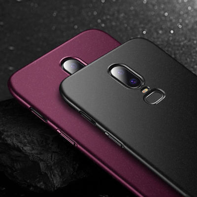 AU4.71 • Buy For OnePlus 7T 7 Pro 6T 5T 6 3T Shockproof Thin Sandstone Matte Hard Cover Case