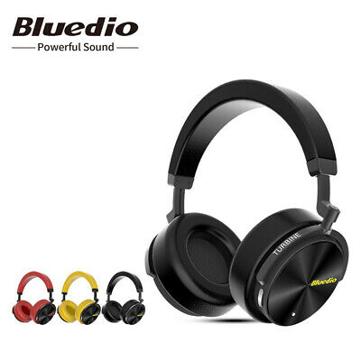 AU29.99 • Buy Bluedio T5 Bluetooth Headphones Microphone Noise Cancelling Wireless Headsets