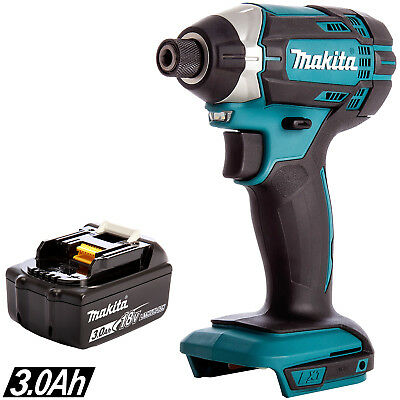 Makita DTD152Z 18V LXT Li-ion Cordless Impact Driver With 1 X 3Ah BL1830 Battery • 101£