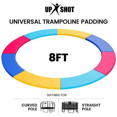 AU44 • Buy UP-SHOT 8ft Replacement Trampoline Pad Reinforced Padding Spring Round Outdoor