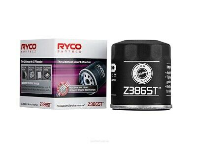 AU20.95 • Buy Ryco Syntec Oil Filter Z386ST Fits Toyota Yaris 1.3 (NCP130R), 1.3 (NCP90R), ...