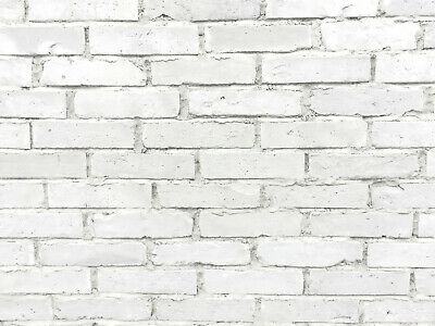 Brick Tiles | Old Brick Cladding Featured Wall Tiles Rustic Brick WHITE | SAMPLE • 3.90£