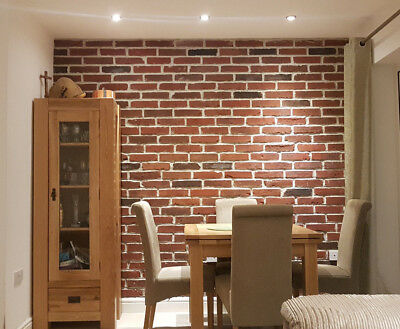 Brick Tiles  Old Brick Cladding Featured Wall Tiles Rustic Brick GOTHIC | SAMPLE • 3.90£