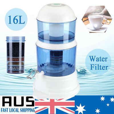 AU56.98 • Buy 8 Stage Water Filter Bench  Ceramic Carbon Mineral Dispenser Purifier System