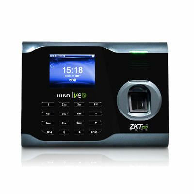 Employee Clocking In Machine WIFI Biometric Fingerprint Scanner Easy Install UK • 146.34£