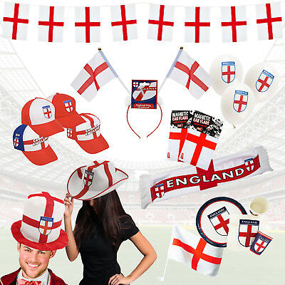 £3.38 • Buy 2018 World Cup Party Decorations, Tableware & Fancy Dress - England Flag Bunting