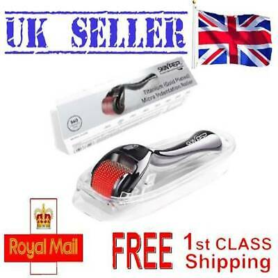 AU12.62 • Buy Best Derma Roller Face SkinPep 540 Titanium & Gold Plated Money Back Guarantee