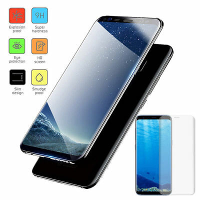 $ CDN3.35 • Buy Full Cover Tempered Glass Screen Protector For Samsung Galaxy S6 S7 Edge S8 Plus