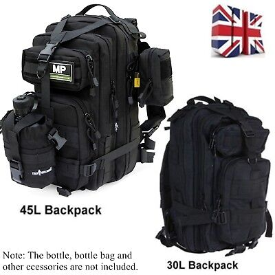 30L/40L/50L Military Tactical Army MOLLE Rucksacks Backpack Camping Hiking Bag • 13.99£
