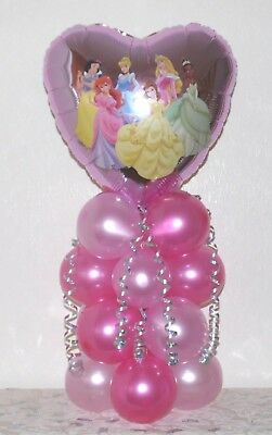 Disney Princess  - Foil Balloon Display - Table Centrepiece - No Helium Needed • 5.90£