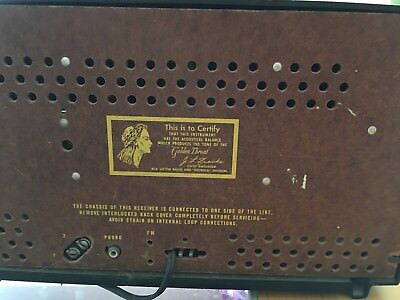 $90 • Buy RCA Broadcast ReceiverModel: 6XF9 The Lindsay Ch=RC-1121B Works Perfect