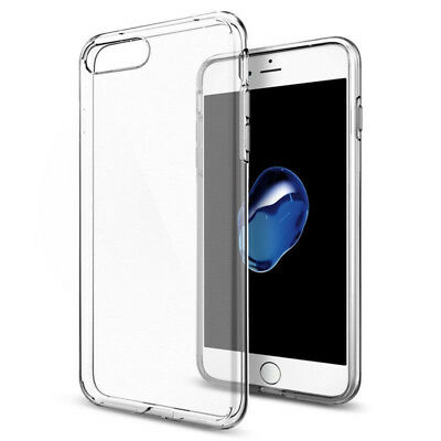 AU3.93 • Buy IPhone 8 7 Plus Case Cover Gel Soft Slim Clear Ultra Silicone Thin For APPLE