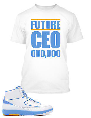 $20.99 • Buy Future CEO Tee Shirt To Match Air Jordan 2 Melo Shoe Big And Tall Graphic Tee