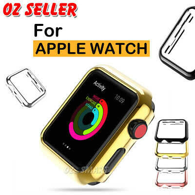 AU5.95 • Buy Apple Watch Slim Screen Protector Case 38/42/40/44mm Cover IWatch 5 4 3 2 1