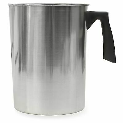 Candle Making Pot For Melting Wax & Soap - Large Aluminium Pitcher Jug • 24.99£