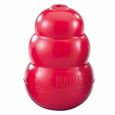 AU19.93 • Buy Classic KONG Rubber Red Dog Toy - Small, Medium, Large, X-Large, XX-Large